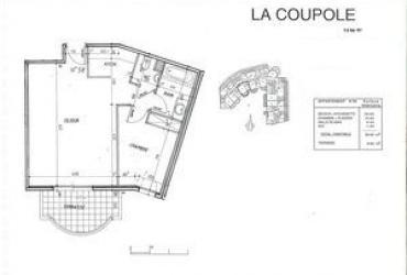 Appartement T2 - 1 510 € / mois