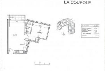 Appartement T2 - 1080 € / mois