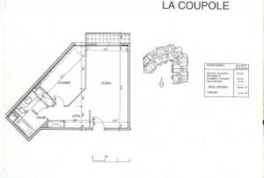 Appartement T2 – 1 170 € / mois
