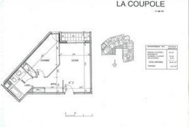Appartement T2 - 1 070 €/mois