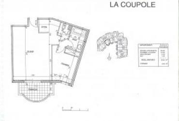 Appartement T2 - 1 620 € / mois