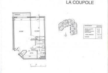 Appartement T2 - 1 480 € / mois