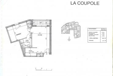 Appartement T2 - 875 € / mois